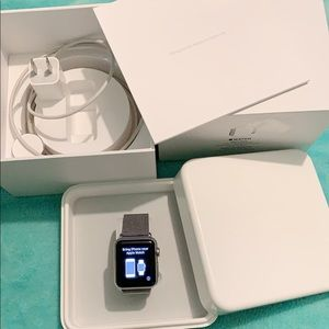 Accessories - Apple Watch 38mm stainless steel.